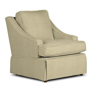 Contemporary Ayla Swivel Glider Chair