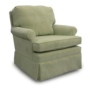 Best Home Furnishings Chairs - Swivel Glide Patoka Swivel Glider