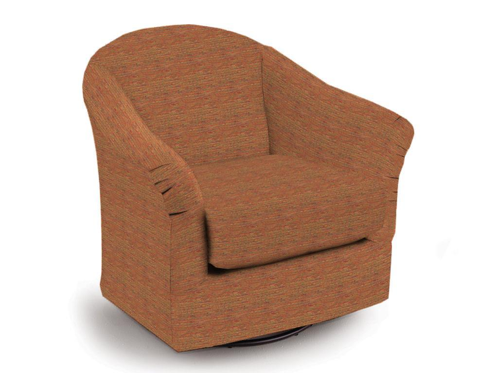 Swivel Glide Chairs Darby Swivel Glider by Best Home Furnishings at Dunk & Bright Furniture
