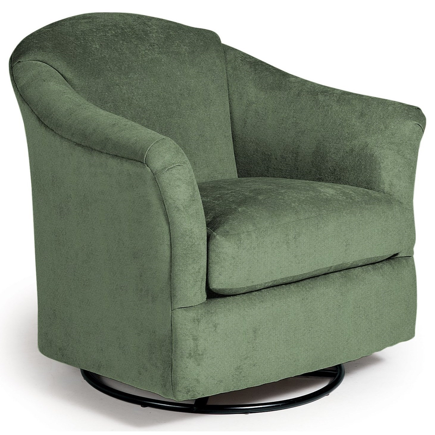 Swivel Glide Chairs Darby Swivel Glider by Best Home Furnishings at Godby Home Furnishings