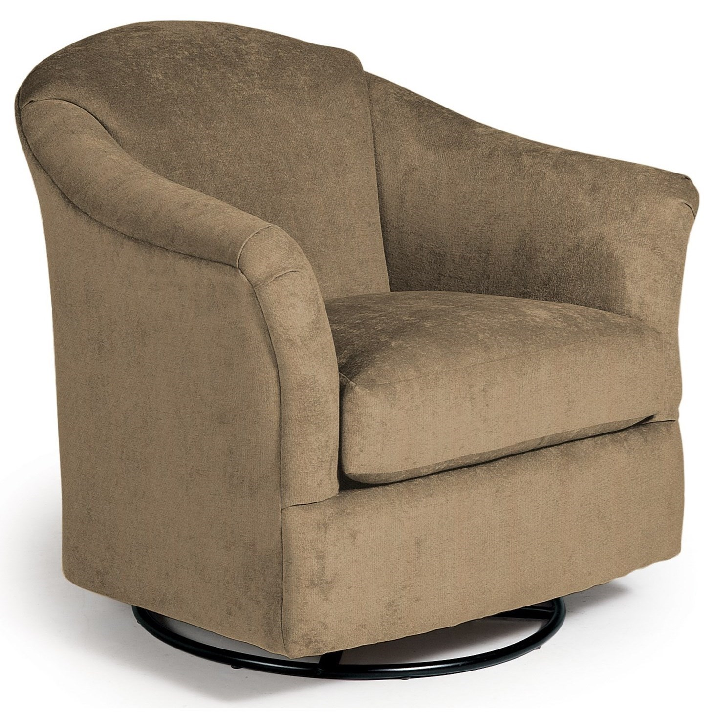 Swivel Glide Chairs Darby Swivel Glider by Best Home Furnishings at Steger's Furniture