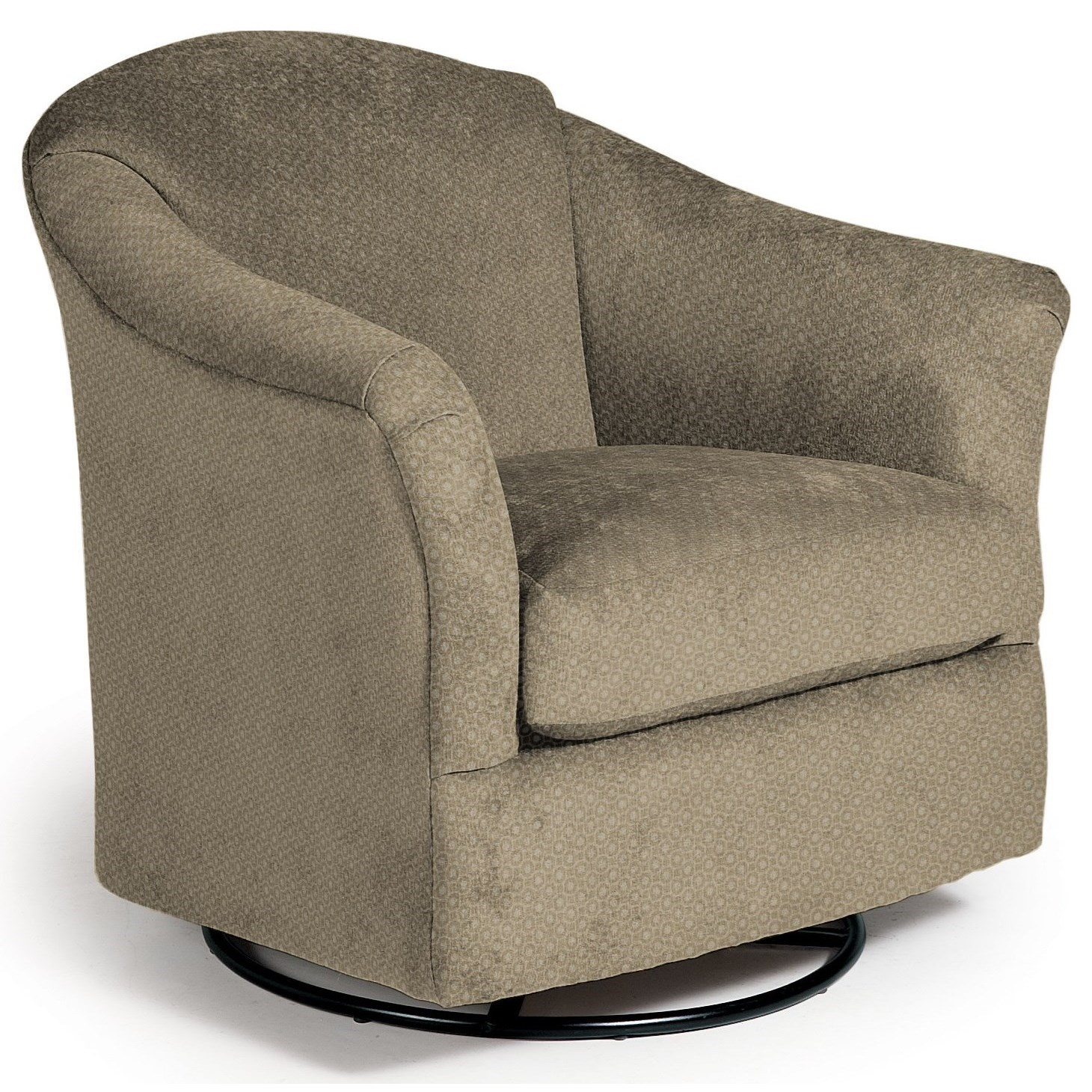 Swivel Glide Chairs Darby Swivel Glider by Best Home Furnishings at Michael Alan Furniture & Design