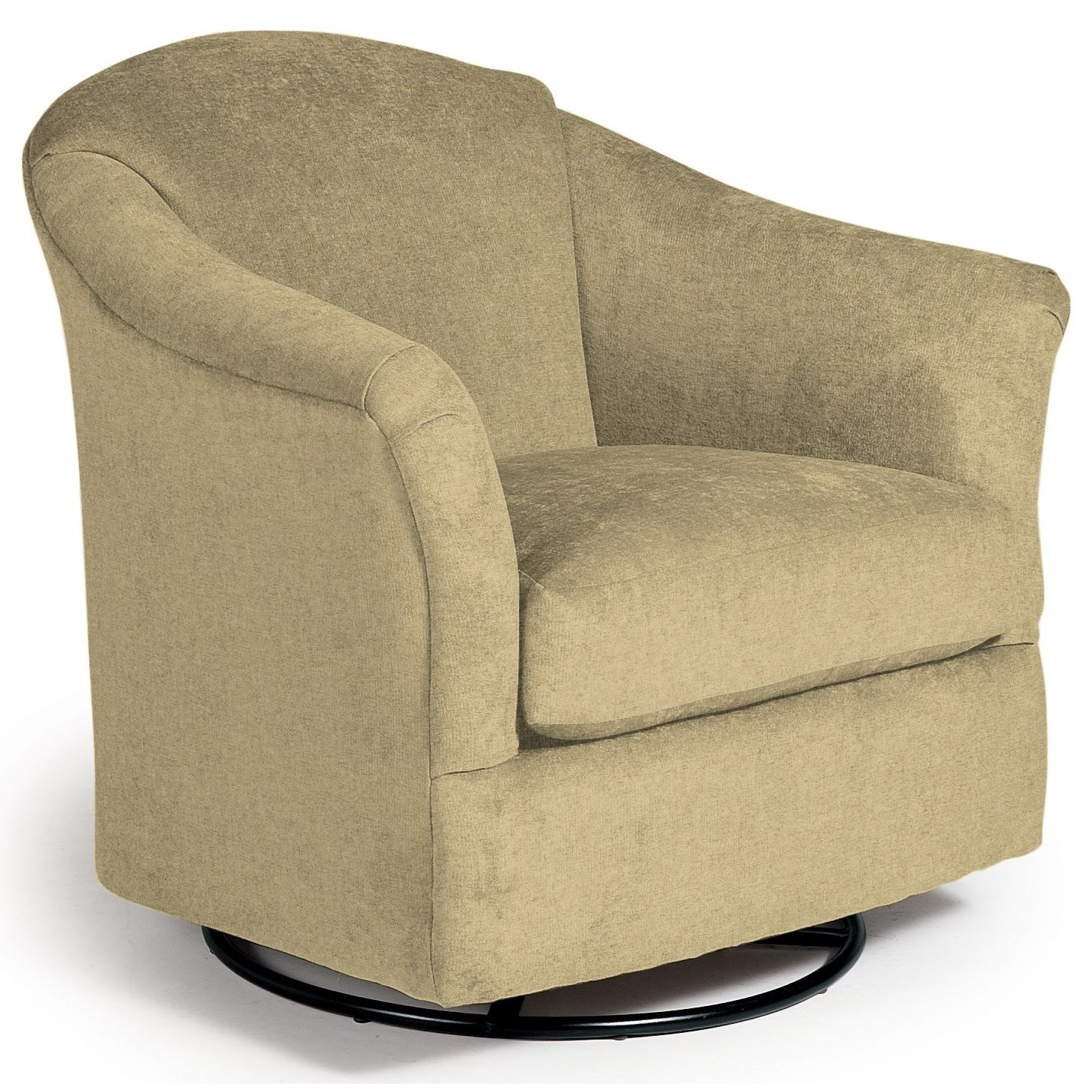 Swivel Glide Chairs Darby Swivel Glider by Best Home Furnishings at Lucas Furniture & Mattress