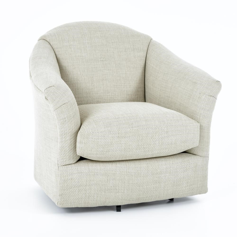 Swivel Glide Chairs Swivel Chair by Best Home Furnishings at Baer's Furniture