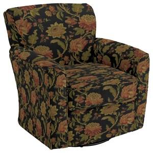 Kaylee Swivel Barrel Arm Chair
