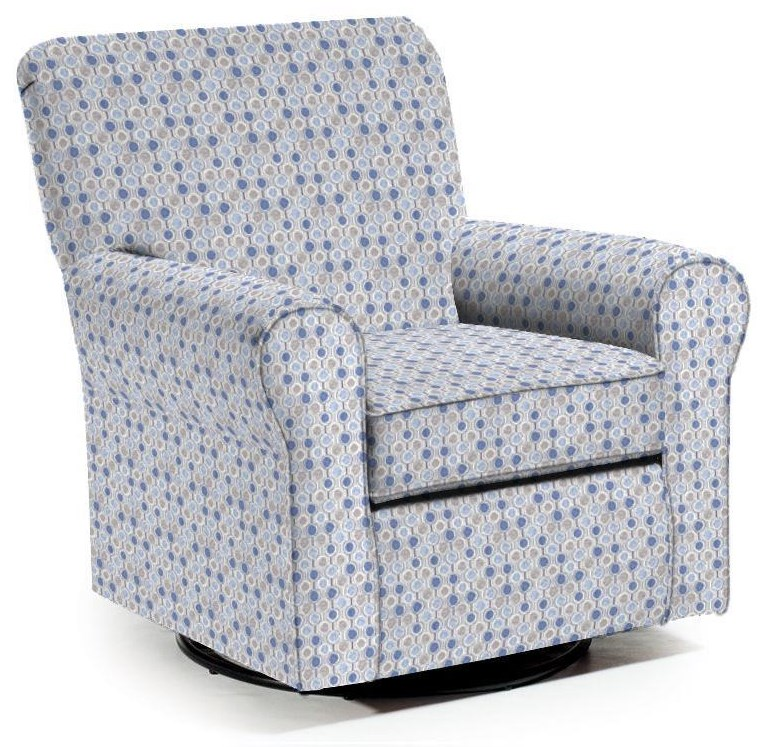 Swivel Glide Chairs Hagen Swivel Glide by Best Home Furnishings at VanDrie Home Furnishings