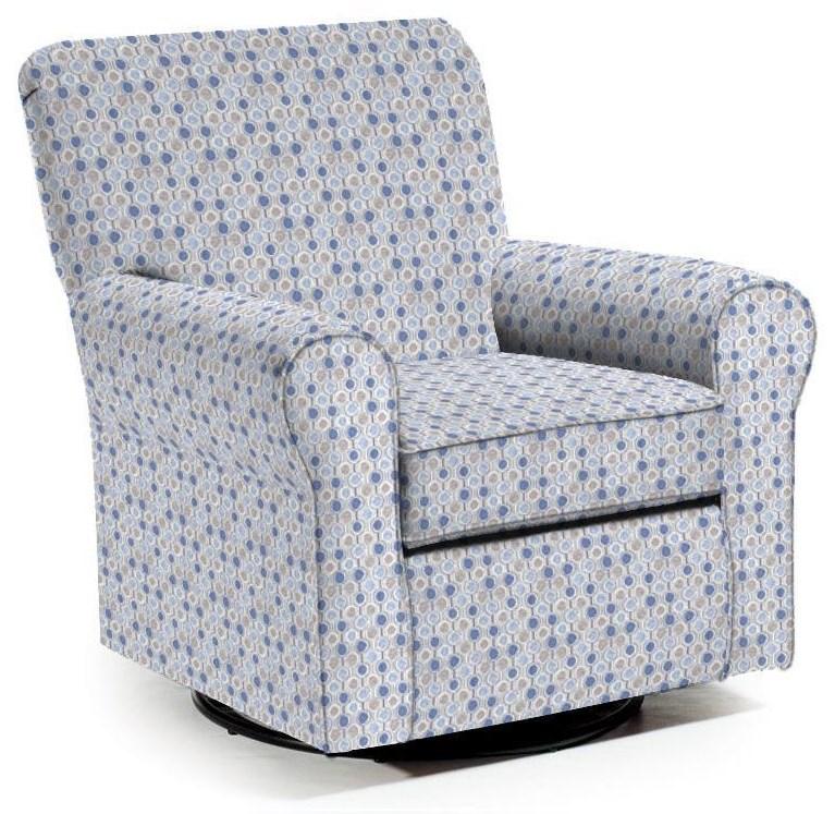 Swivel Glide Chairs Hagen Swivel Glide by Best Home Furnishings at VanDrie Home Furnishings
