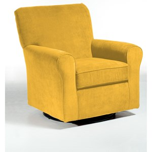 Best Home Furnishings Chairs - Swivel Glide Hagen Swivel Glide