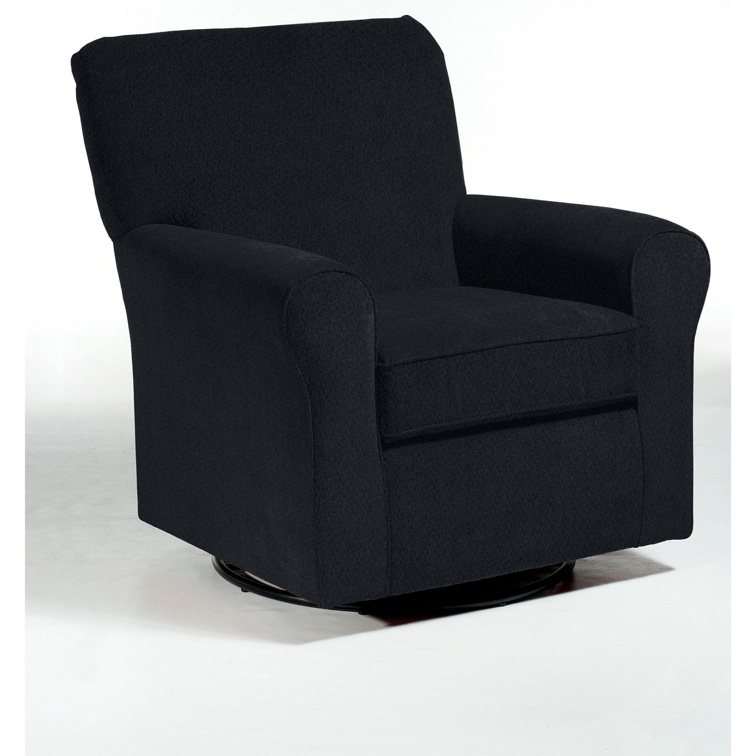 Swivel Glide Chairs Hagen Swivel Glide by Best Home Furnishings at Lucas Furniture & Mattress
