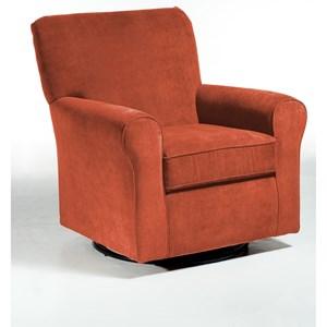 Best Home Furnishings Chairs - Swivel Glide Hagen Swivel Glide