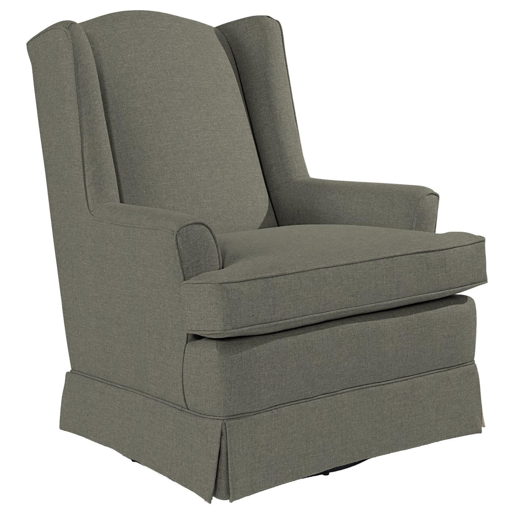 Swivel Glide Chairs Natasha Swivel Glider by Best Home Furnishings at Lucas Furniture & Mattress