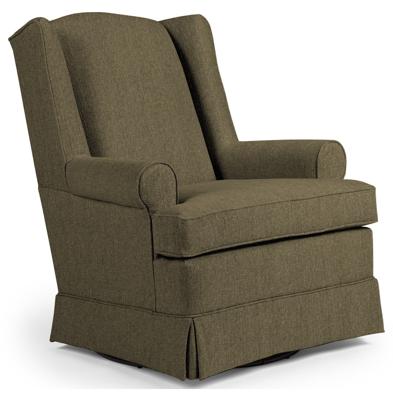 Swivel Roni Swivel Glider Chair by Best Home Furnishings at Walker's Furniture