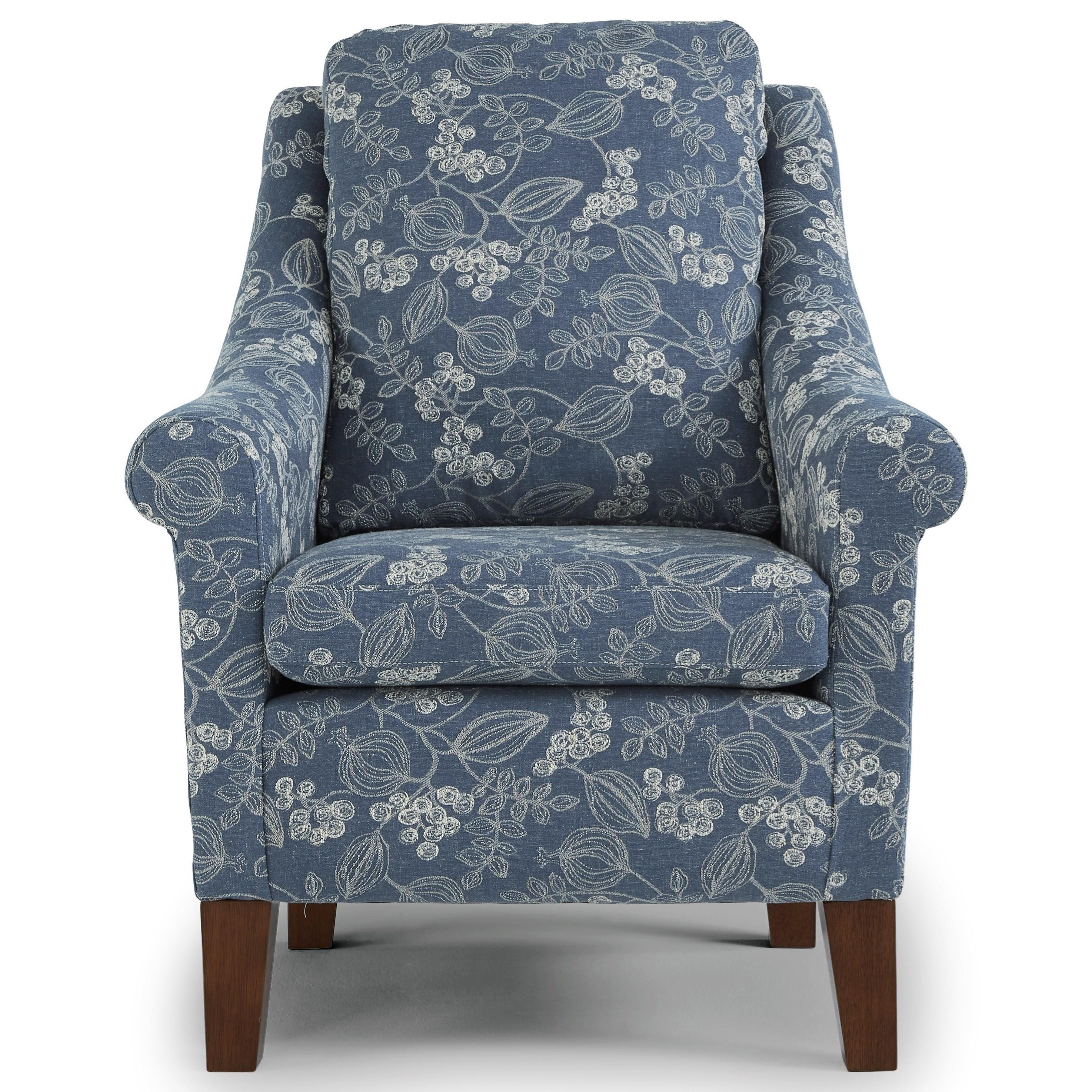 Charmes Club Chair by Best Home Furnishings at Walker's Furniture