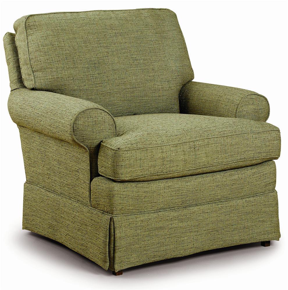 Club Chairs Quinn Club Chair by Best Home Furnishings at Best Home Furnishings