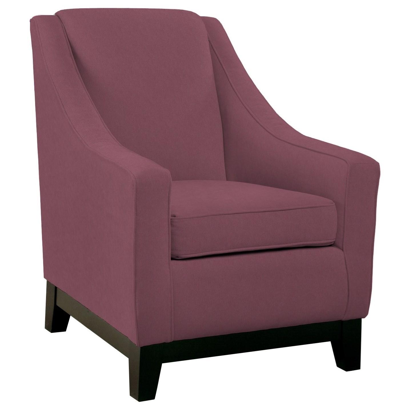 club Mariko Club Chair by Best Home Furnishings at Walker's Furniture
