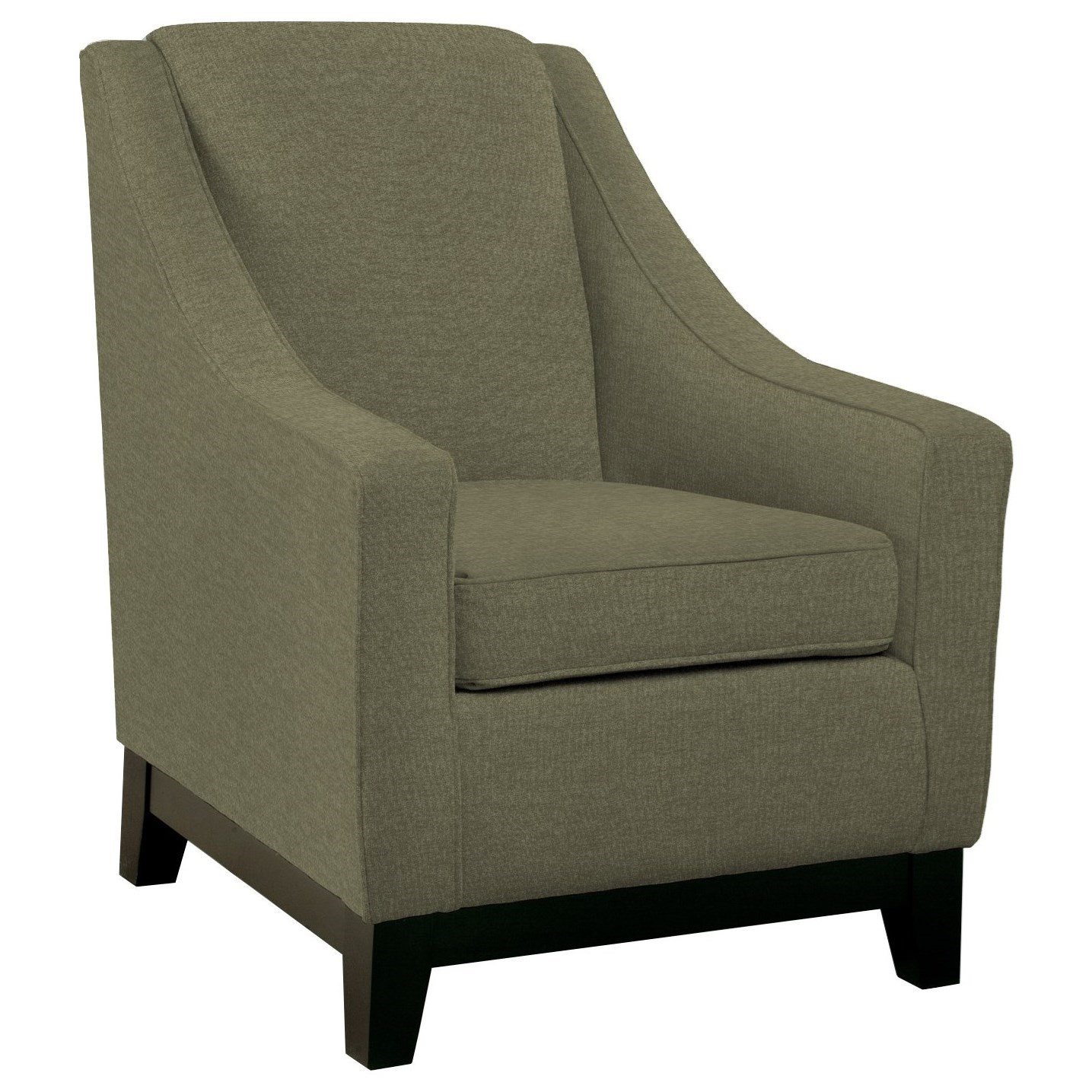 Club Chairs Mariko Club Chair by Best Home Furnishings at Darvin Furniture