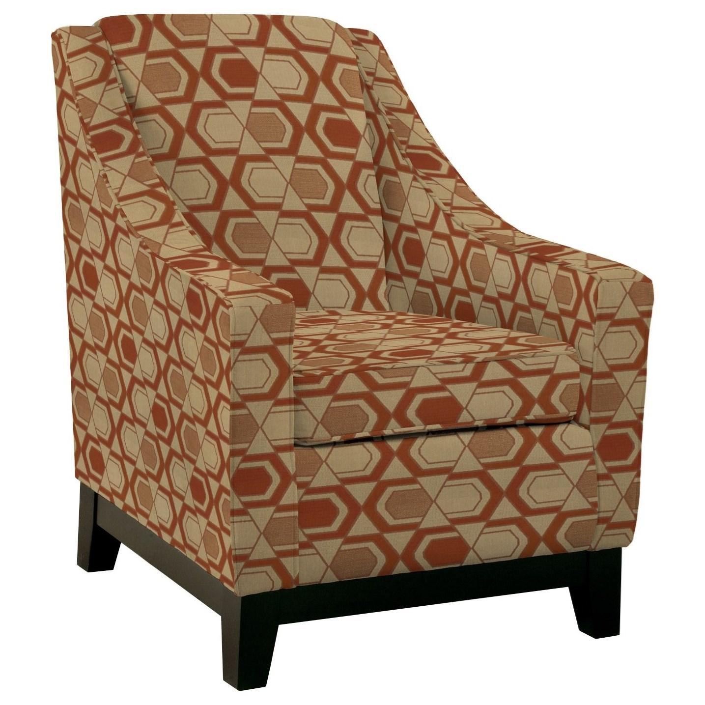 Club Chairs Mariko Club Chair by Best Home Furnishings at Lucas Furniture & Mattress