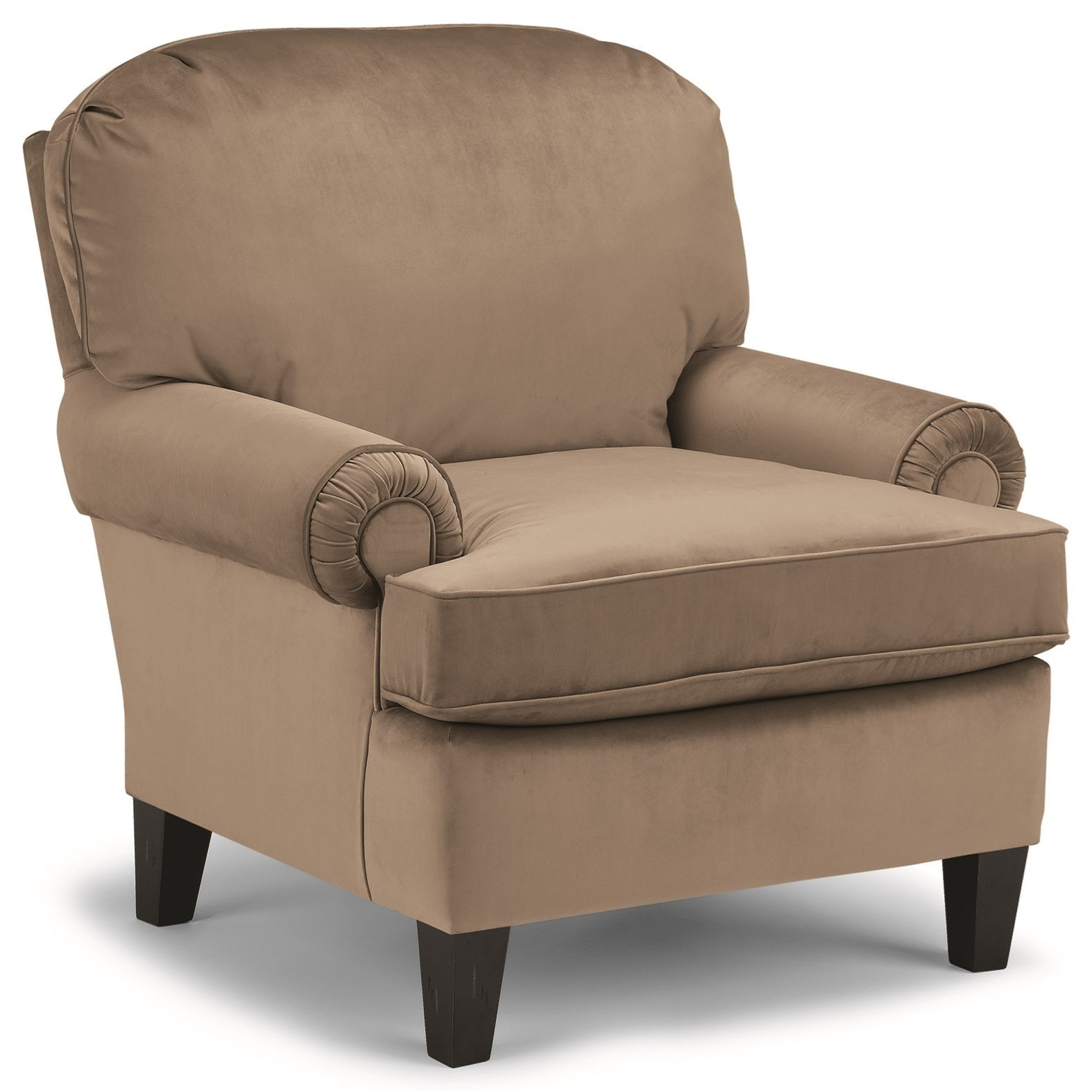 Club Chairs Troy Club Chair by Best Home Furnishings at Lapeer Furniture & Mattress Center