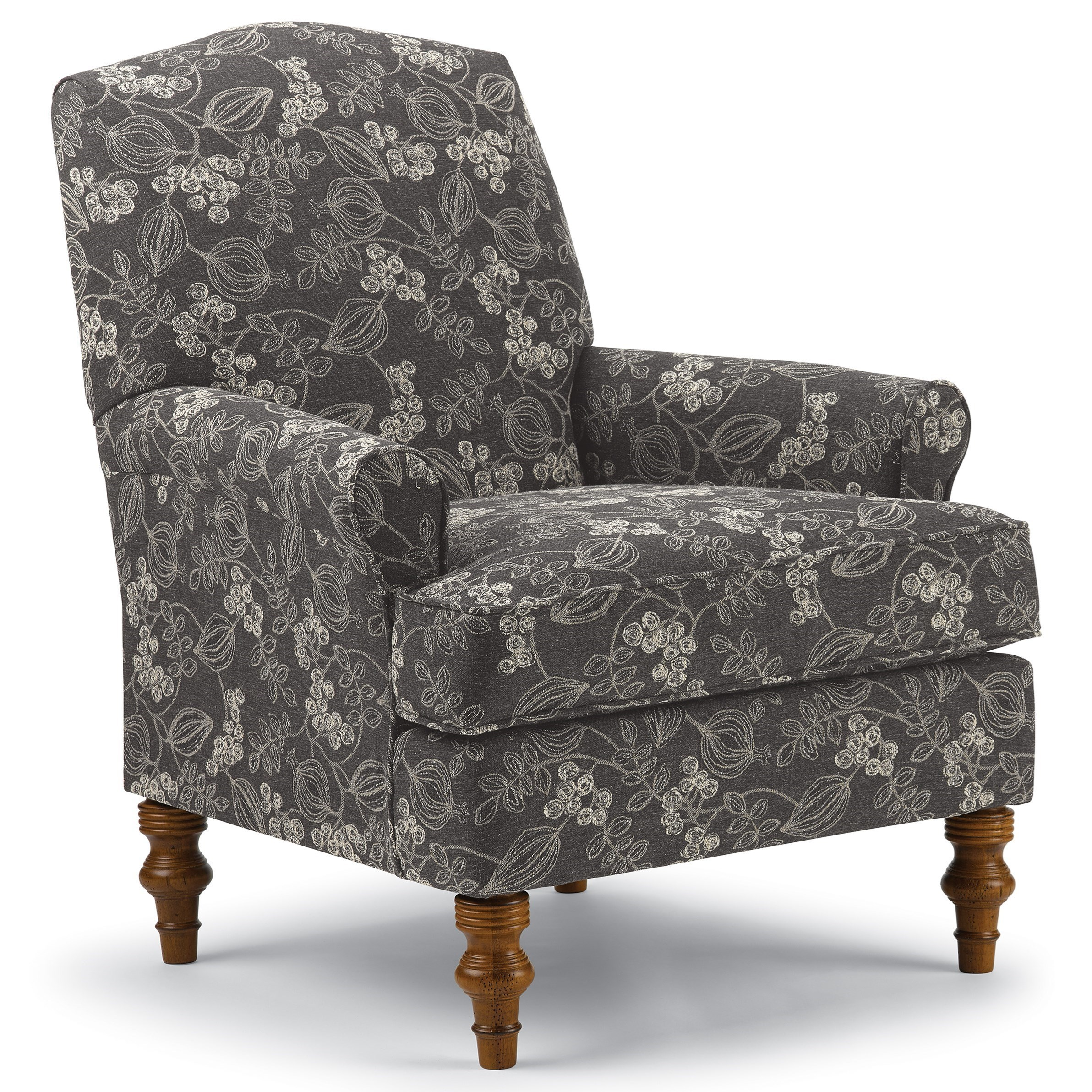 club Camel-Back Club Chair by Best Home Furnishings at Walker's Furniture