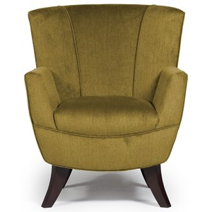 Bethany Flared-Back Club Chair