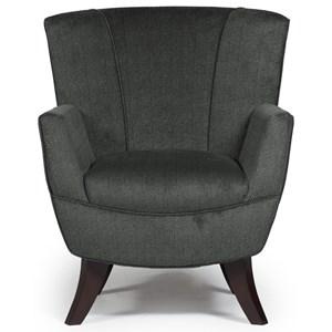 Bethany Flared-Back Club Chair