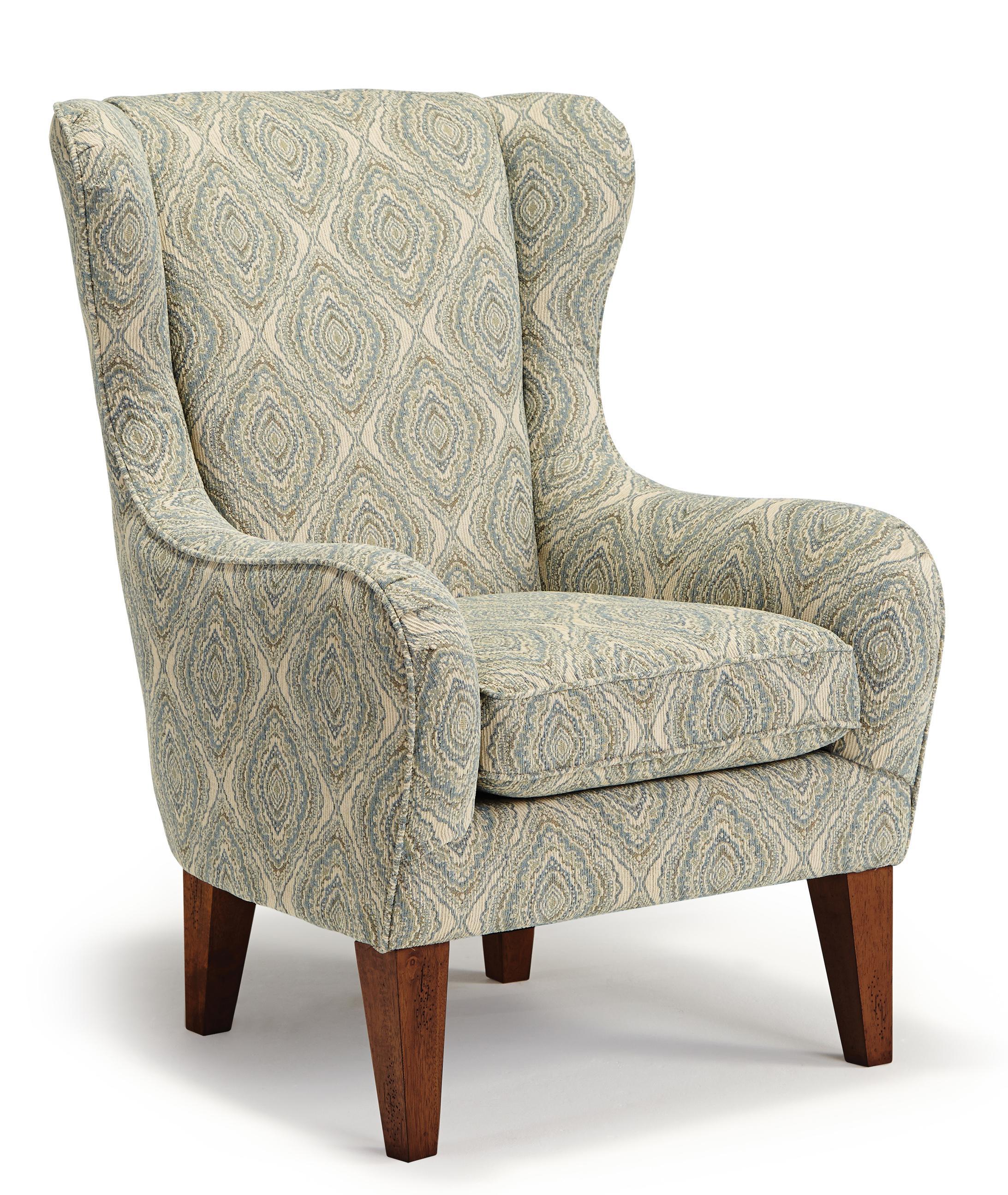 Club Chairs Lorette Club Chair by Best Home Furnishings at Best Home Furnishings