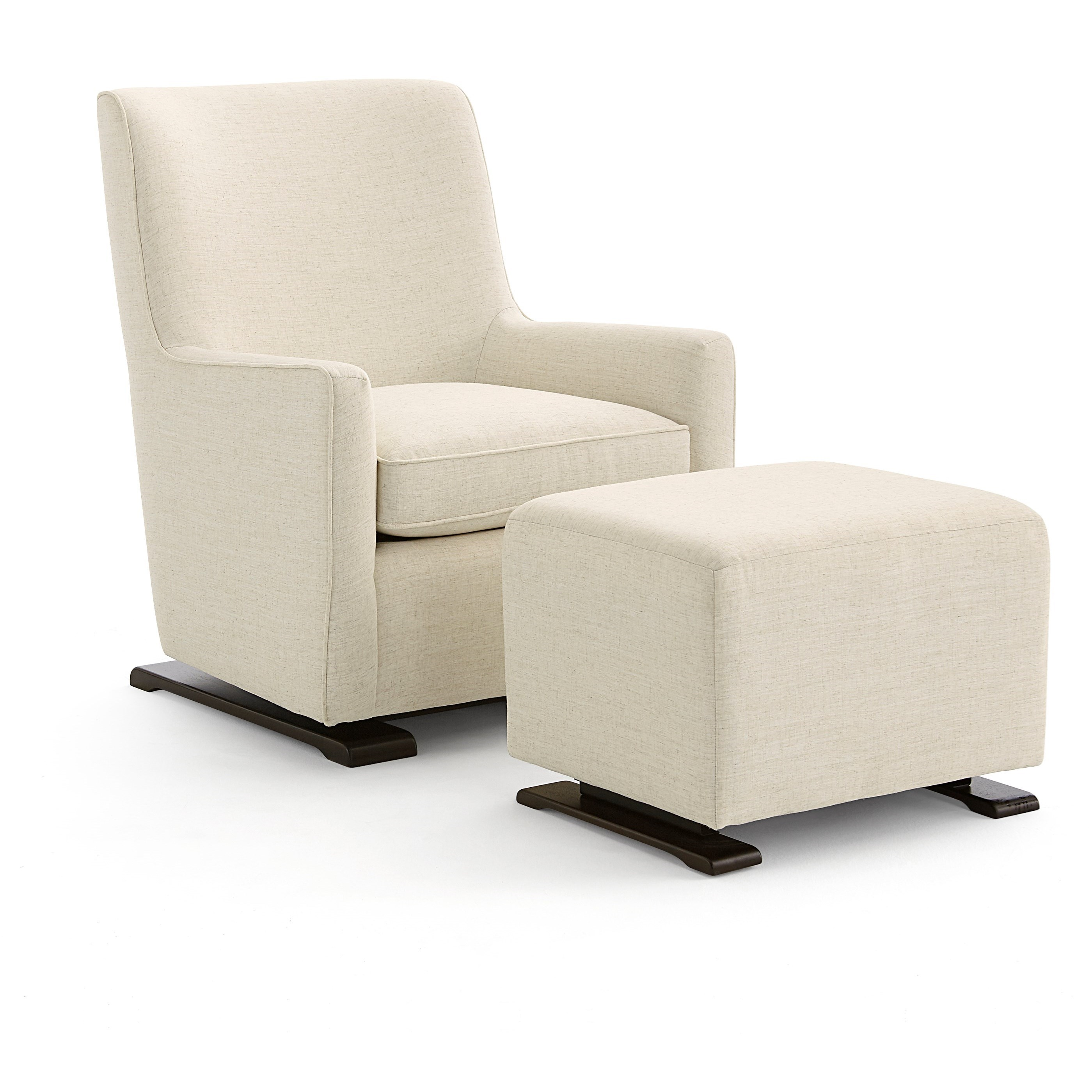 Coral  Swivel Glider and Gliding Ottoman Set by Best Home Furnishings at Walker's Furniture