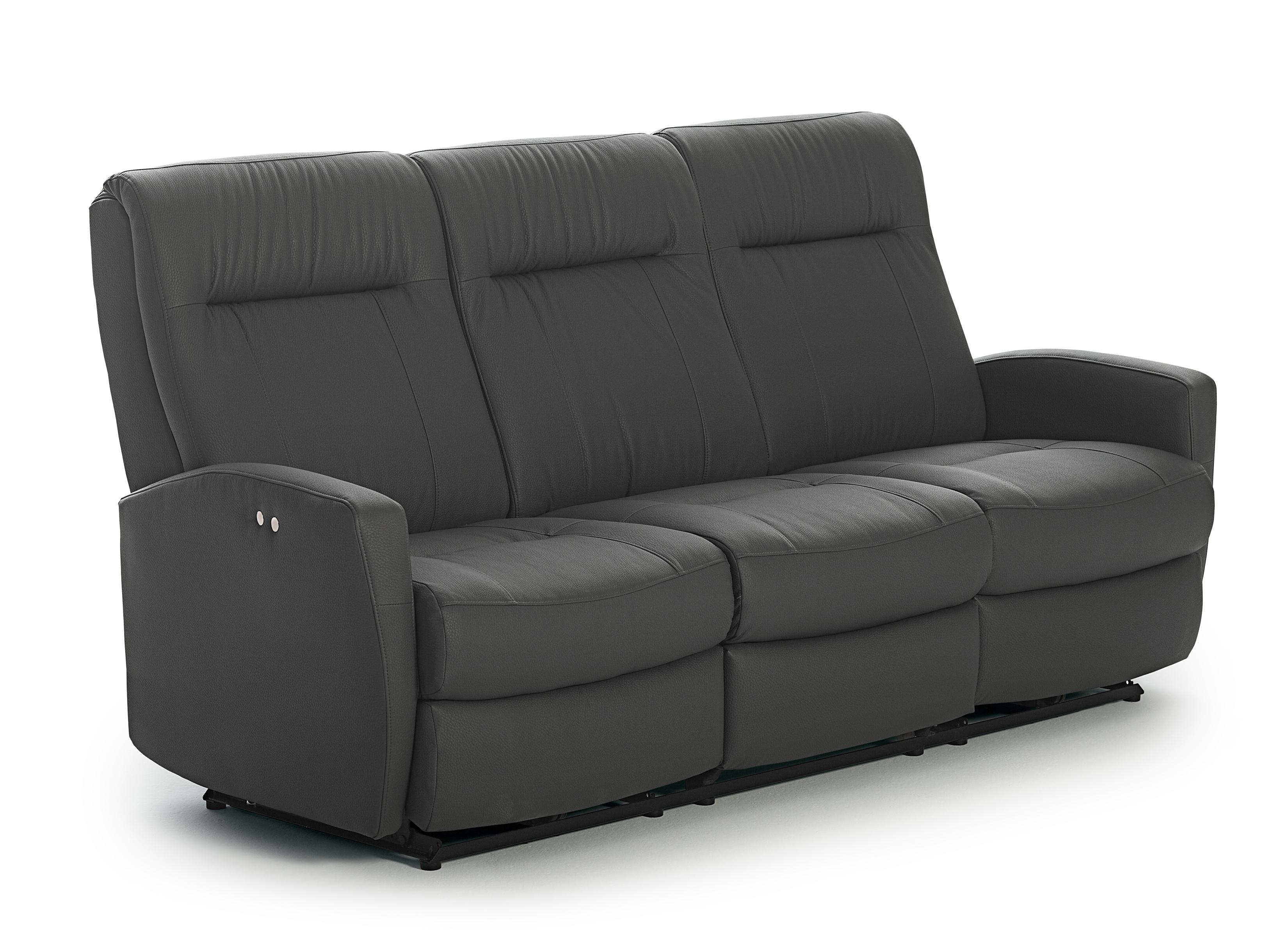 Costilla Power Tilt Headrest Space Saver Sofa by Best Home Furnishings at Best Home Furnishings