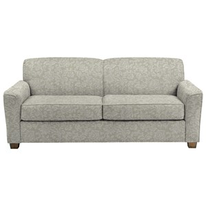 Contemporary Queen Sofa Sleeper with Air Dream Mattress