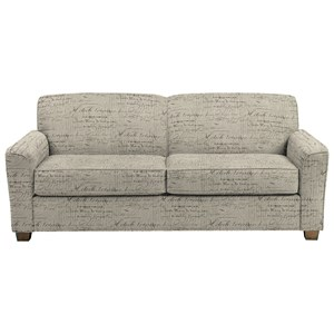 Contemporary Queen Sofa Sleeper with Air Dream Mattress