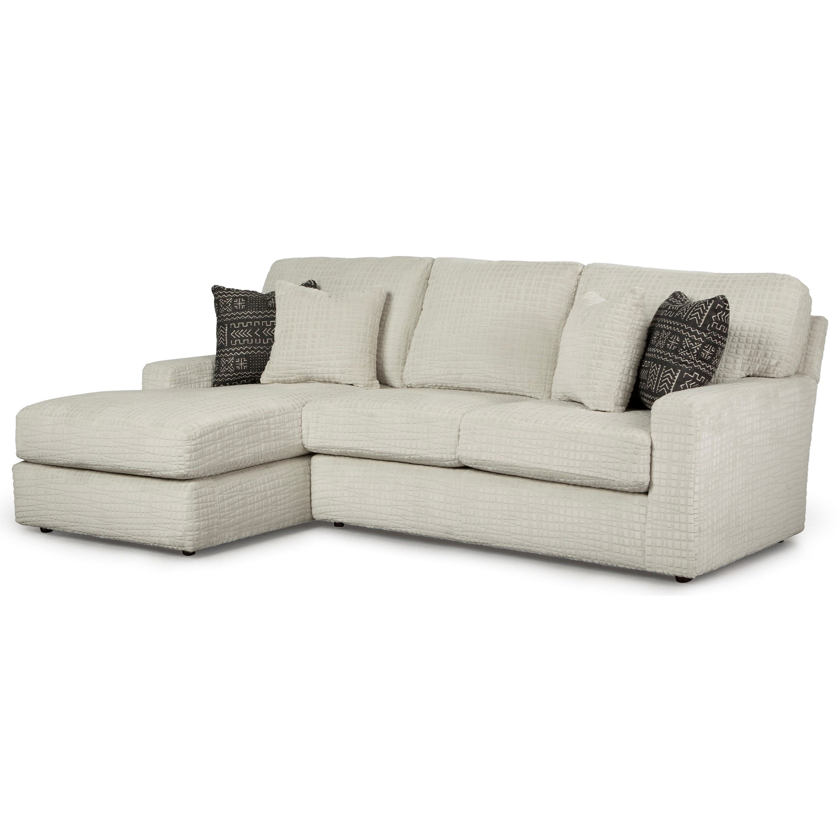 Dovely 2 Piece Sectional Sofa w/ LAF Chaise by Best Home Furnishings at Baer's Furniture