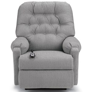 Power Rocker Recliner with Button Tufted Back
