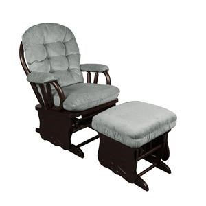 Emeline Glider Rocker with Ottoman