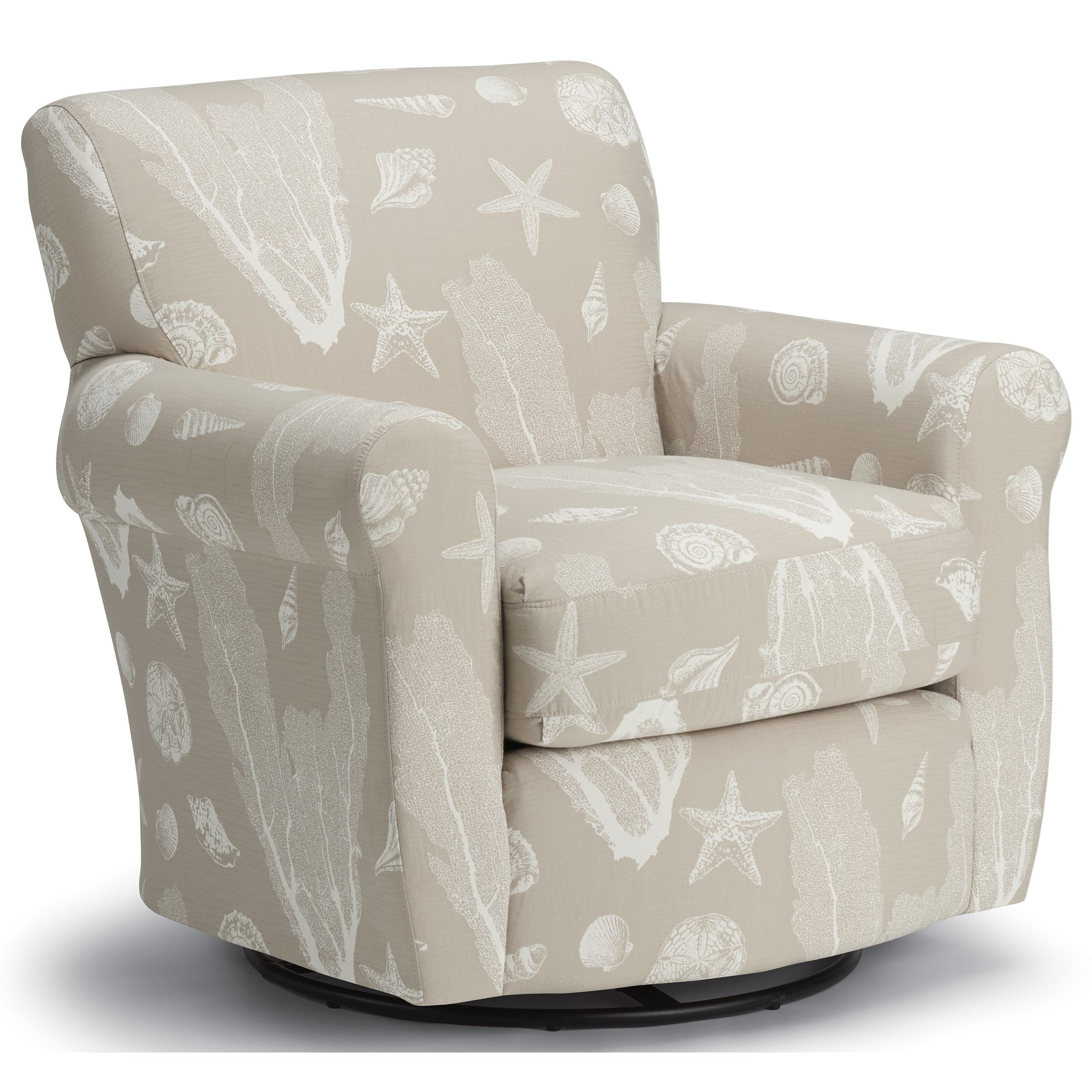 Gemily Swivel Glider Chair by Best Home Furnishings at Esprit Decor Home Furnishings