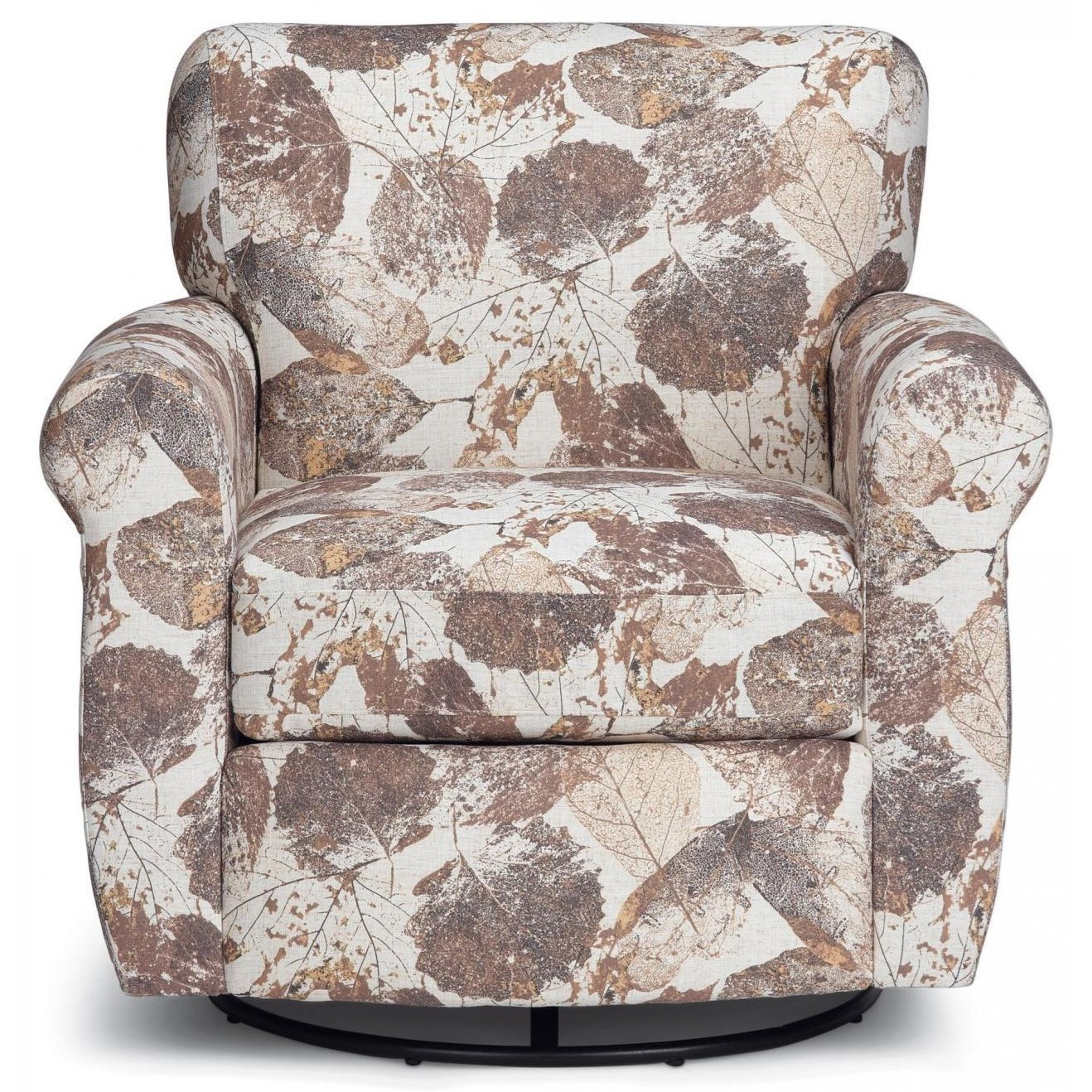 Gemily Swivel Chair by Best Home Furnishings at Walker's Furniture