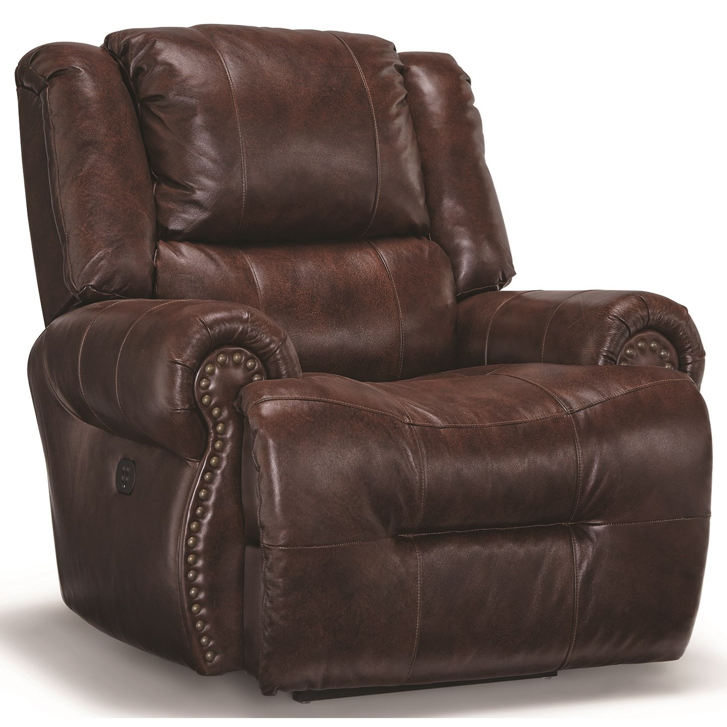 Genet Swivel Glider Recliner by Best Home Furnishings at VanDrie Home Furnishings
