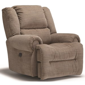 Power Rocking Recliner with Power Tilt Headrest and USB Charging Port