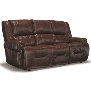 Power Wall Reclining Sofa w/Drop Down Table