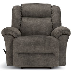Casual Big & Tall Oversized Rocker Recliner