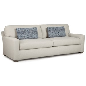 Contemporary Sofa with Deep Seats