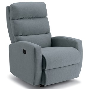 Petite Power Rocker Recliner with Power Headrest and USB Charging Port