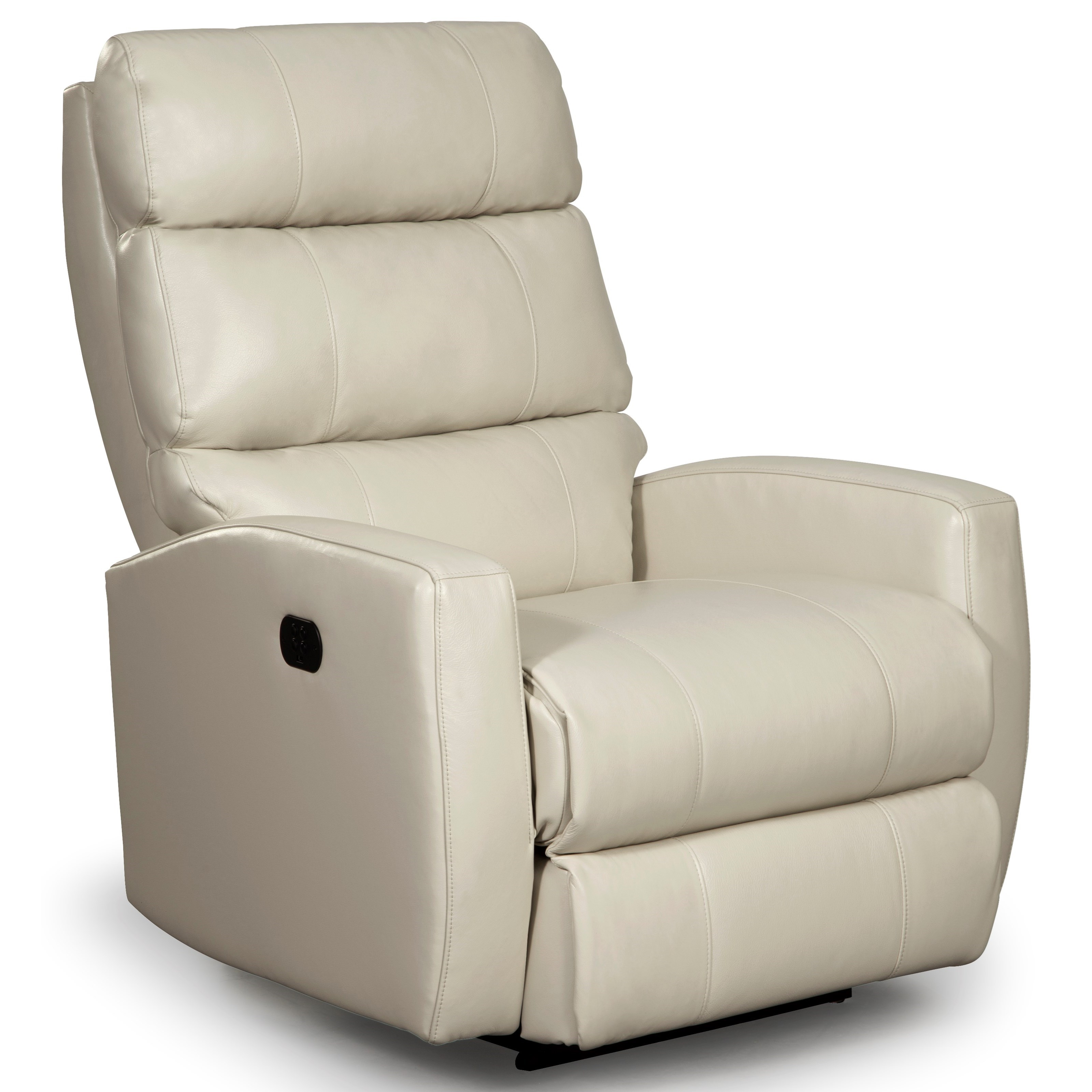 Hillarie Power Space Saver Recliner w/ Pwr Headrest by Best Home Furnishings at SuperStore