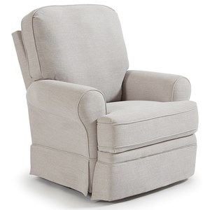 Skirted Power Swivel Glider Recliner