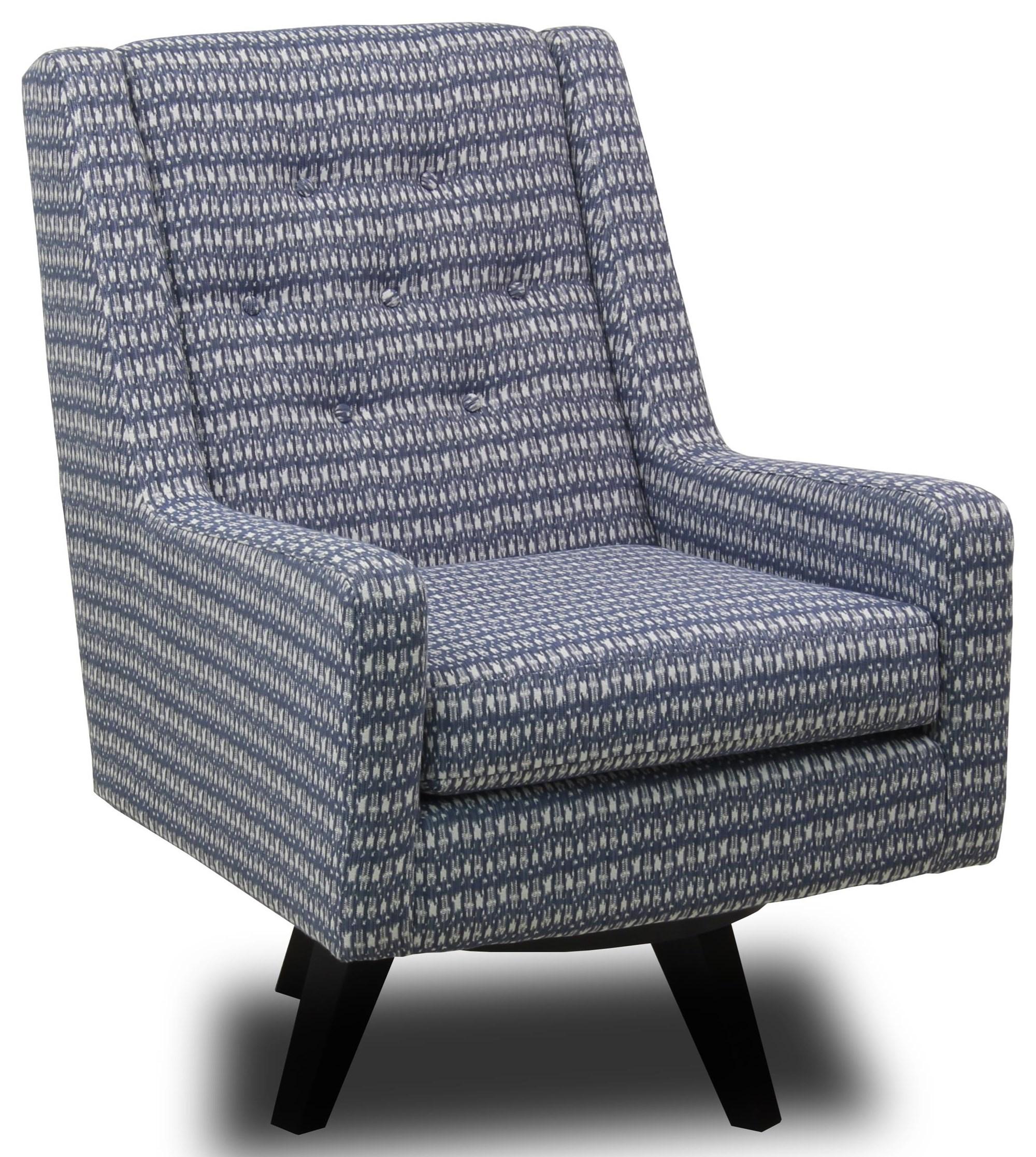 Kale Swivel Chair at Ruby Gordon Home