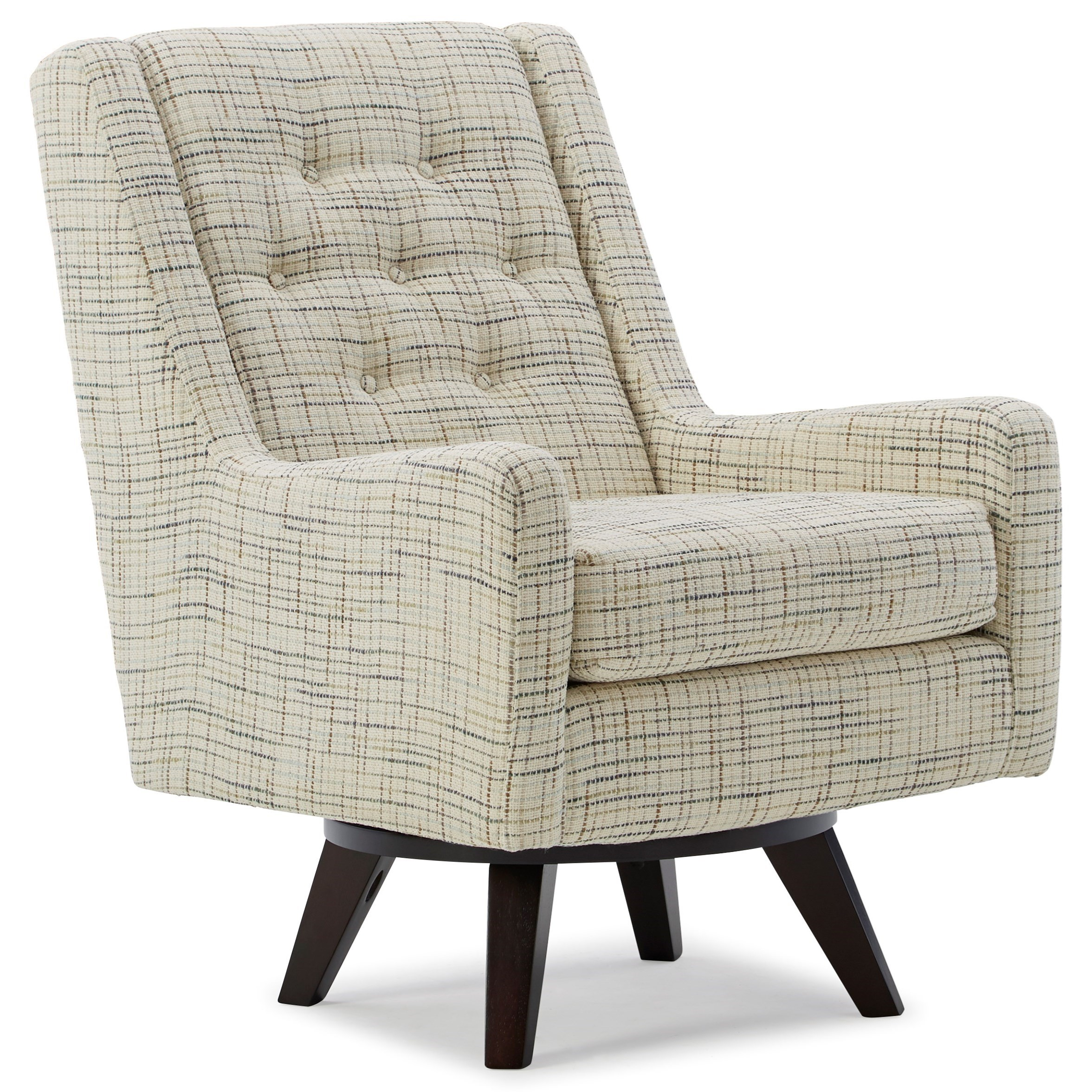 Kale Swivel Chair by Best Home Furnishings at Walker's Furniture