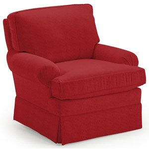 Kamilla Skirted Club Chair