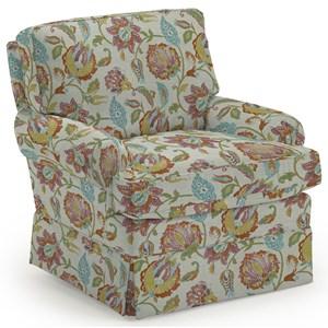 Kamilla Skirted Club Chair