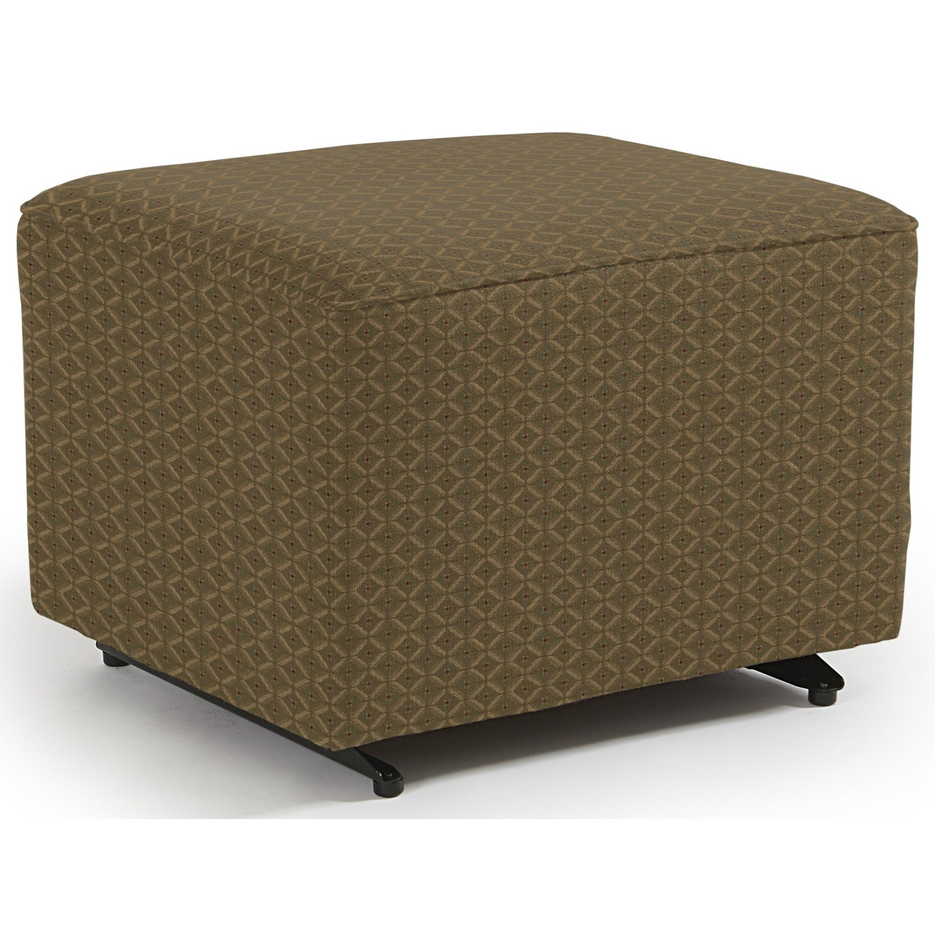 Kacey Ottoman W/ Glider Base by Best Home Furnishings at Stoney Creek Furniture