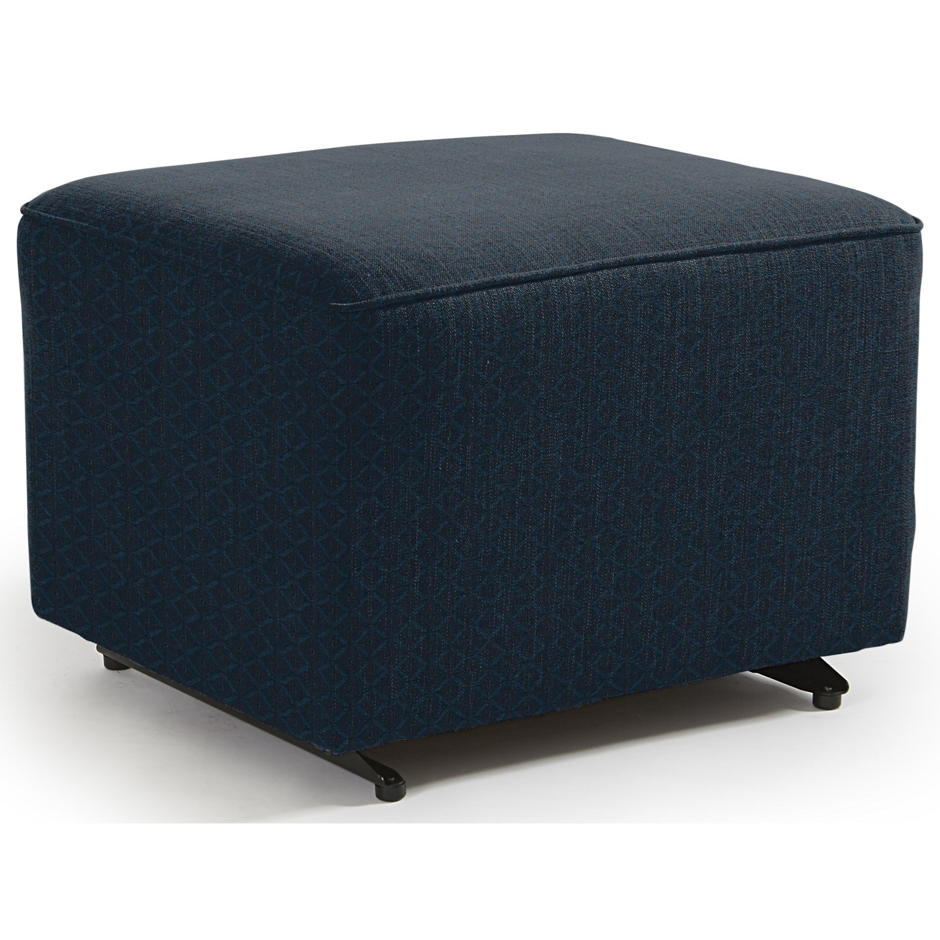 Kacey Ottoman W/ Glider Base by Best Home Furnishings at Steger's Furniture