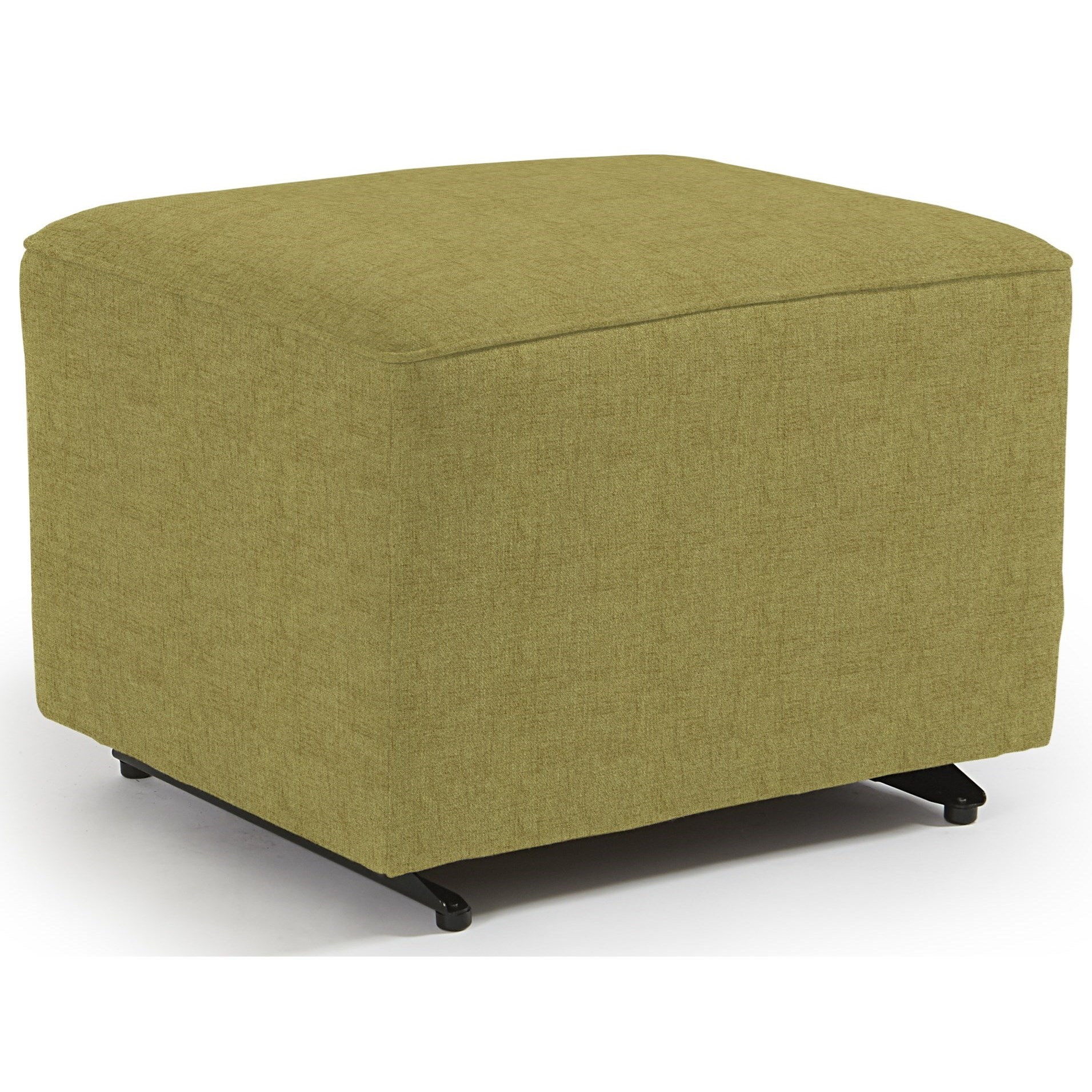 Kacey Ottoman W/ Glider Base by Best Home Furnishings at Johnny Janosik